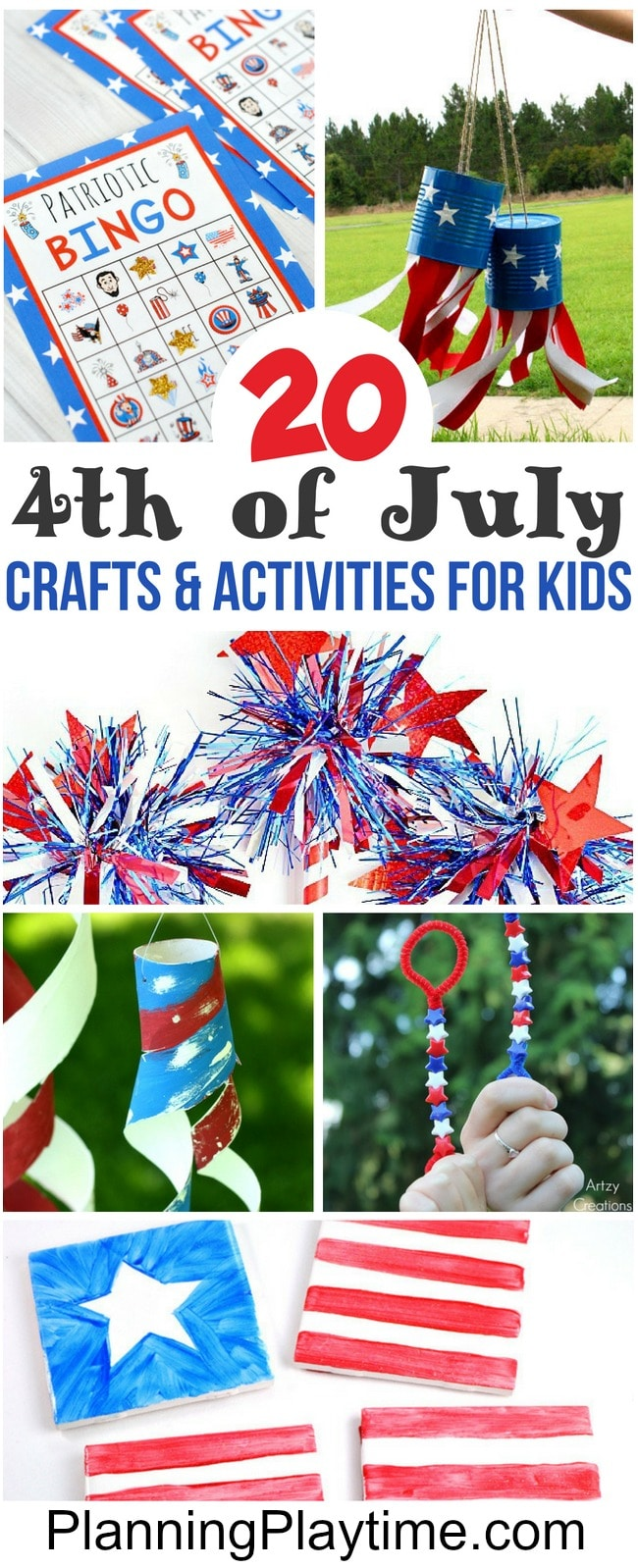 Awesome 4th of July Crafts for kids