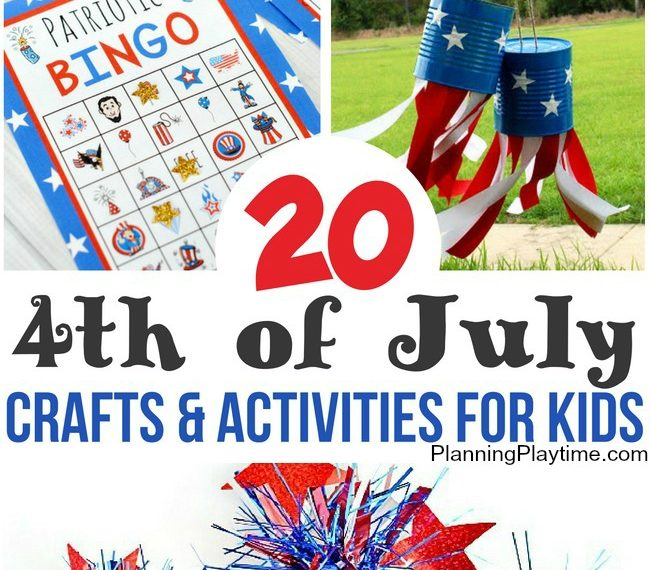 Fun 4th of July Crafts for kids