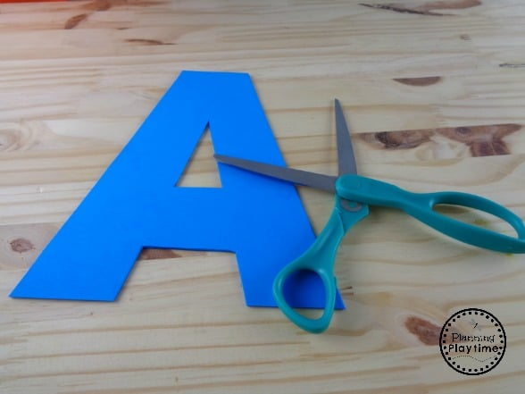A is for Airplane Letter Craft
