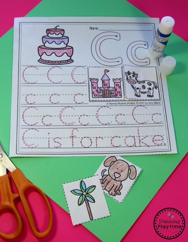 Create your own Alphabet Books Activity for kids.