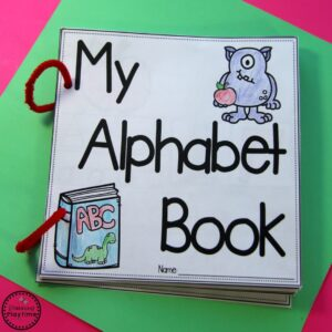 DIY Alphabet Books for Kids.