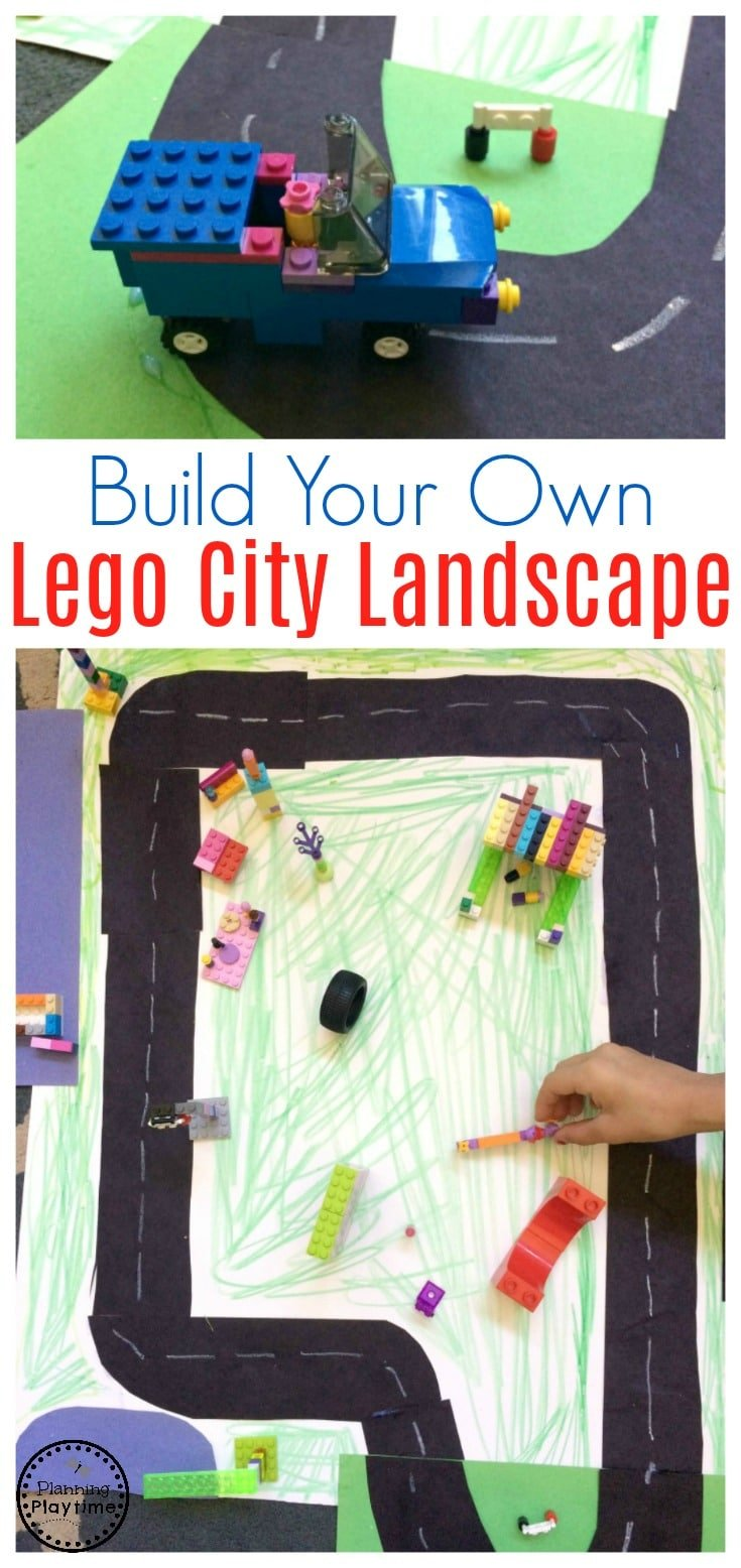 DIY Lego City Activity and other fun Lego City Sets.