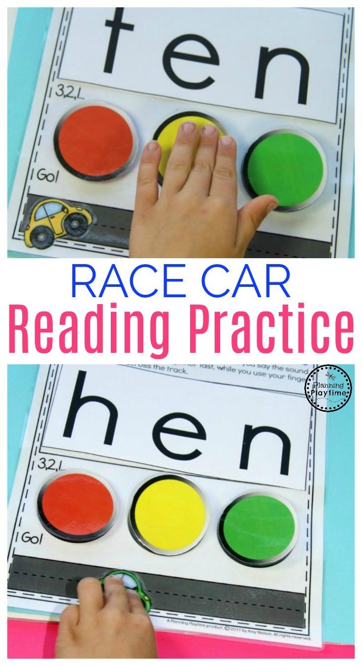Fun Kindergarten Reading Practice Activity for kids.