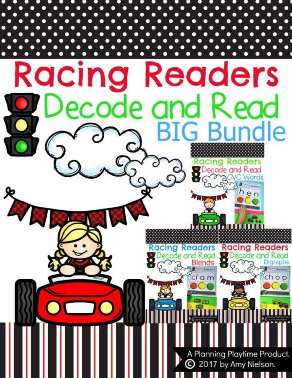 Kindergarten Reading - The super fun big Bundle.
