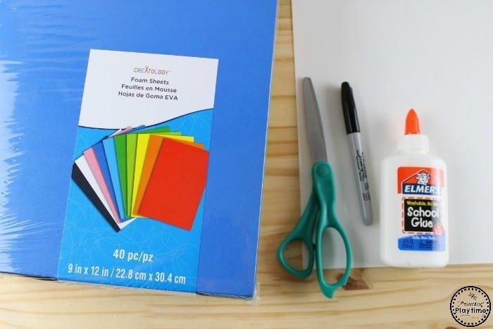 Letter A Craft Supplies