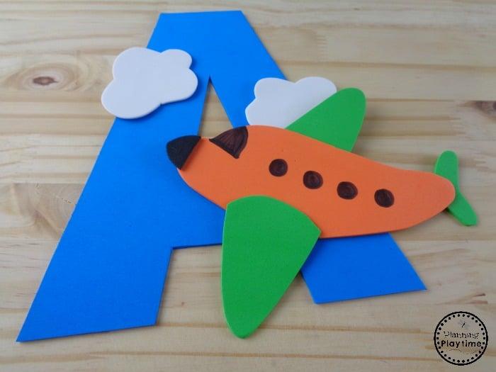 Letter A Preschool Craft
