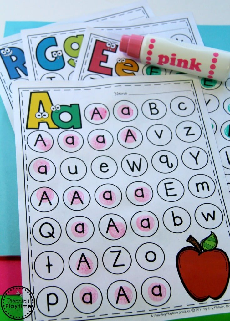 Letter Worksheets for Preschool or Kindergarten.