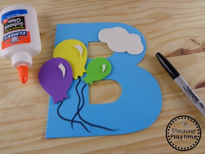 Creative Letter B Craft