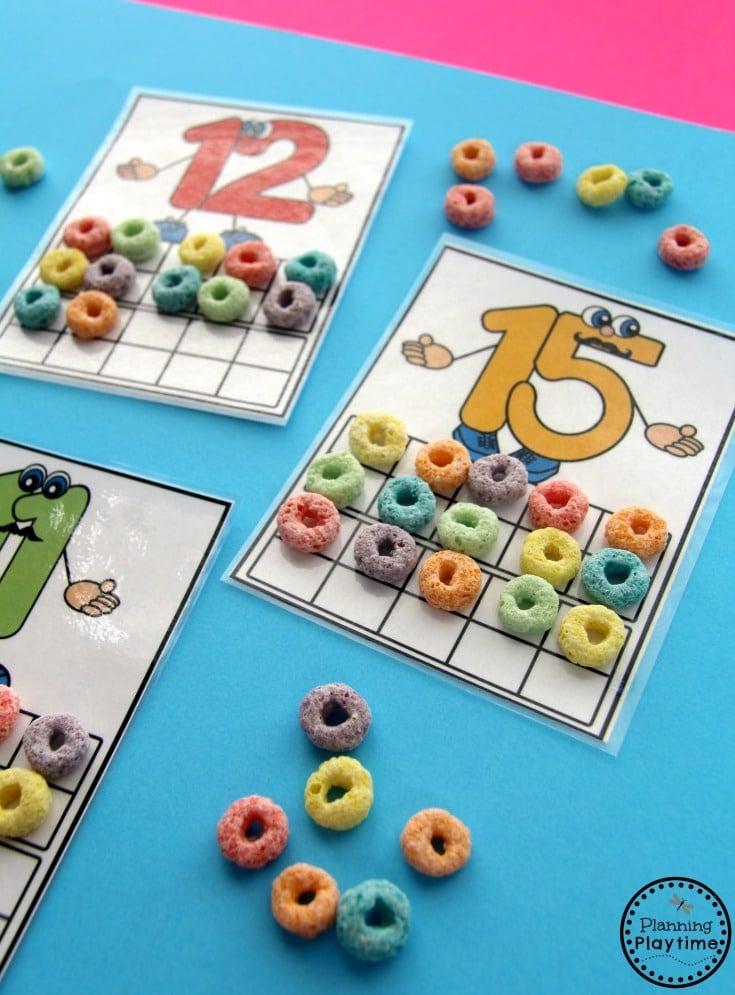 Fun Counting Activities for Kindergarten and Preschool
