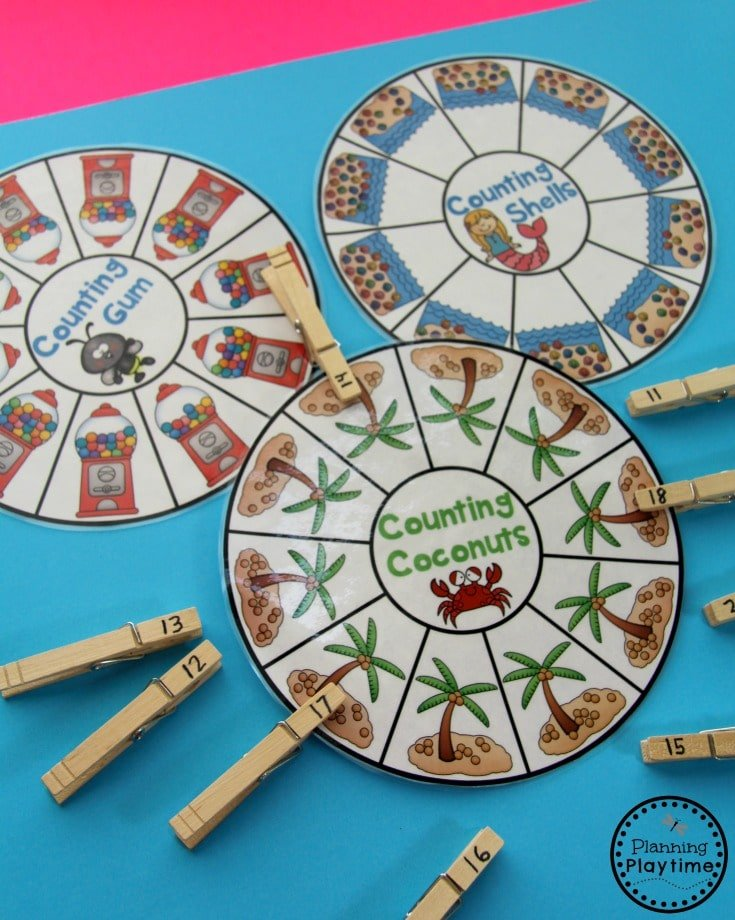 Fun Subitizing and Counting Activities for Kindergarten.