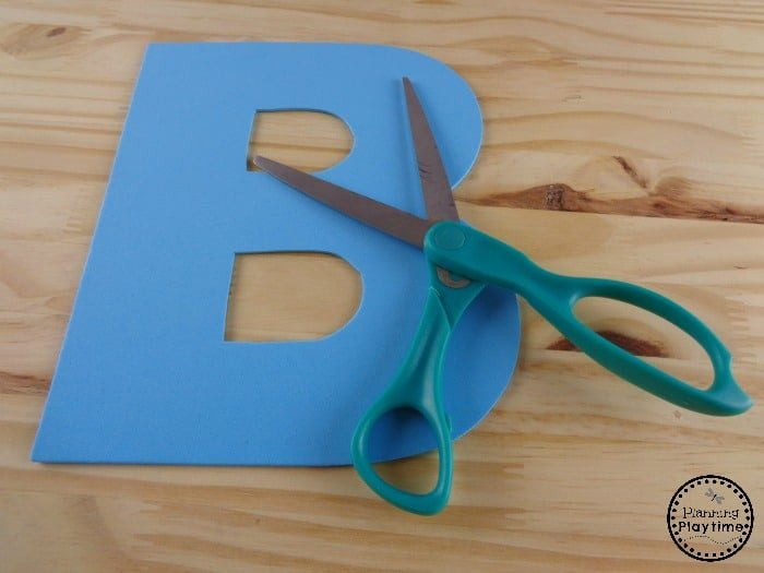 Letter B Alphabet Craft