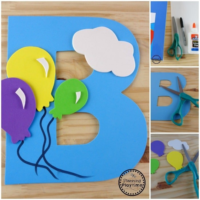 Letter B Craft for Kids