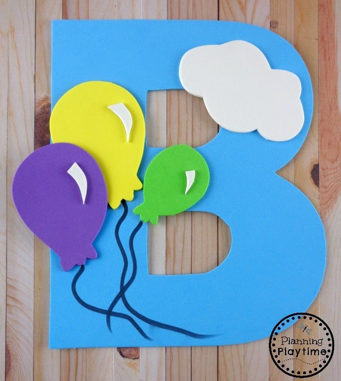 Letter B is for Balloon