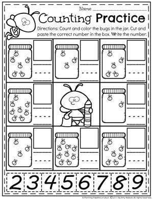 Number Worksheets Planning Playtime