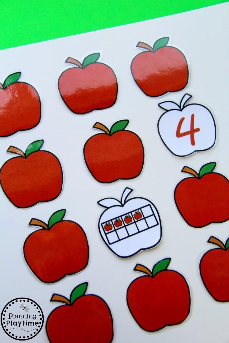 Counting Game for Kindergarten or Preschool