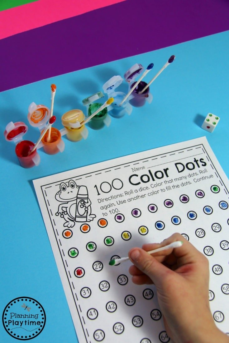 Counting to 100 Activities for Kids.