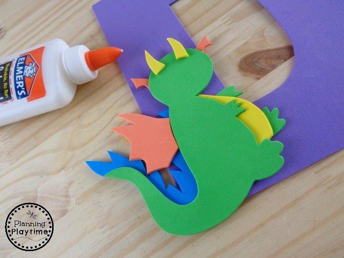 Creative Letter D Craft for Kids