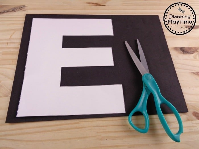 Creative Letter E Craft for Kids