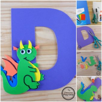 D is for Dragon Craft