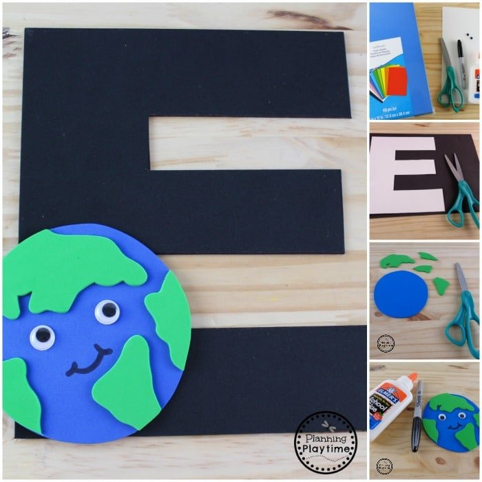 E if for Earth Letter Craft