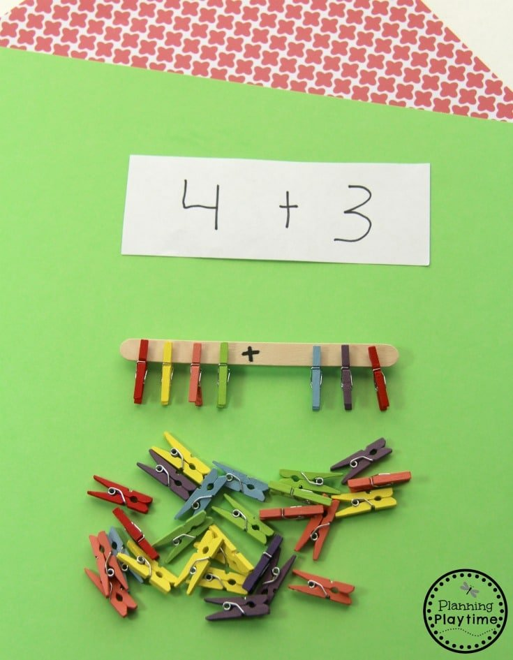Fun Addition Activity for Kindergarten
