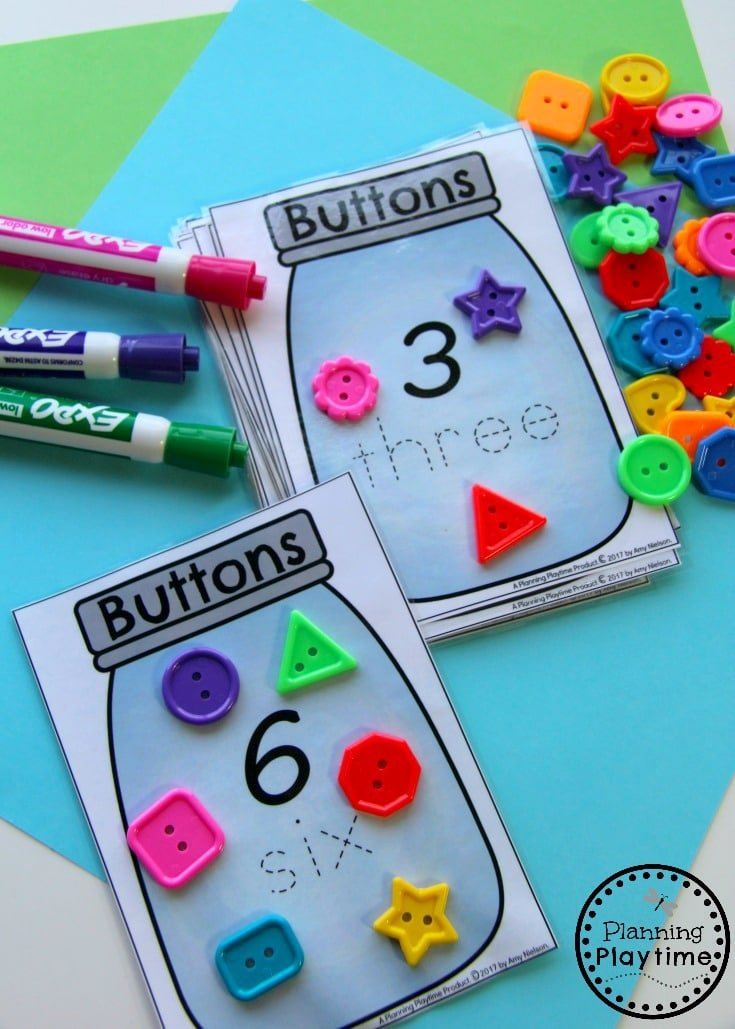 Fun Counting Activities for Kindergarten or Preschool.