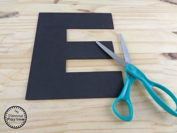 Fun Letter E Craft for Kids