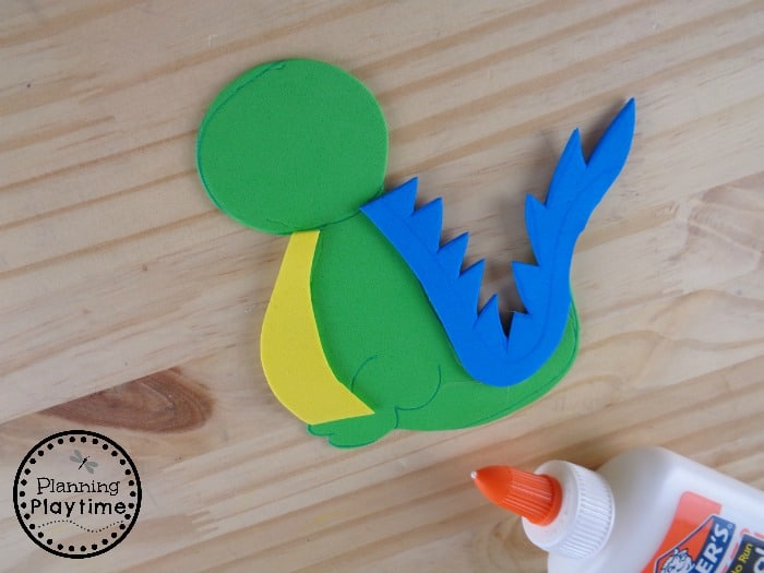 Letter D Alphabet Craft