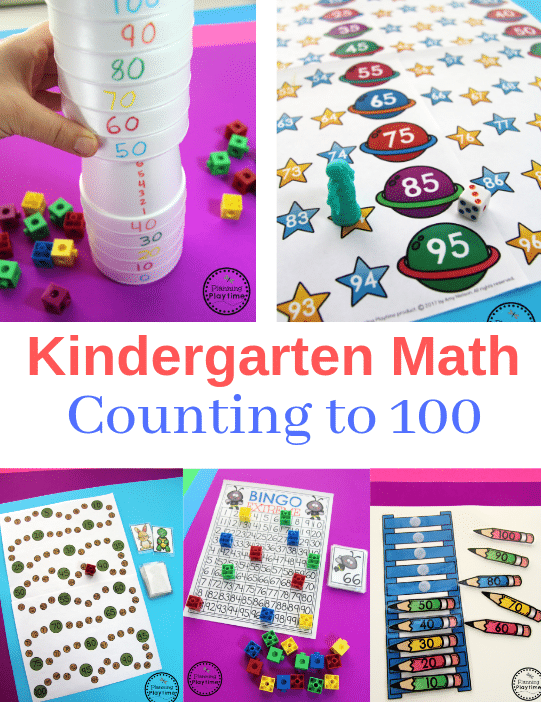Kindergarten Math Games and Worksheets - Counting to 100