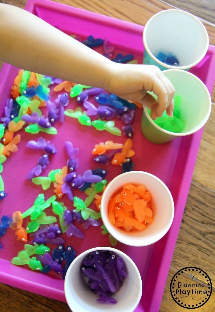 Color Sorting Activities for Preschool and Toddlers.