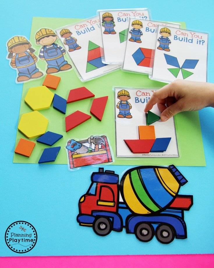 Community Helpers - Can you Build It pretend play for kids.