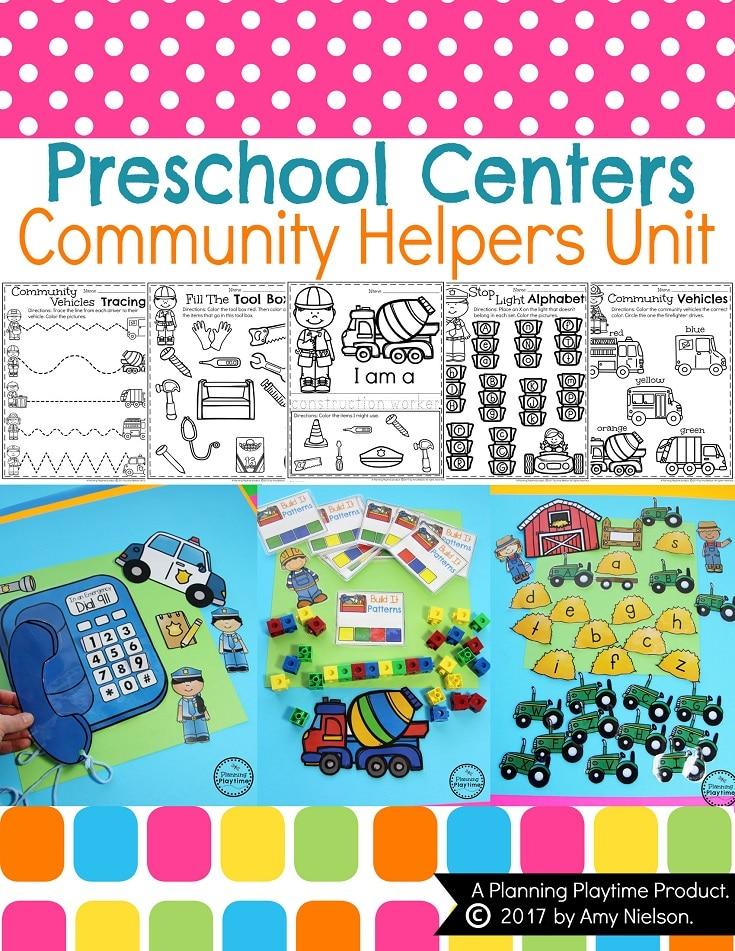 Community Helpers Preschool Unit