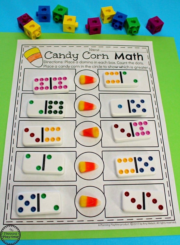 Comparing Numbers Math Activity - So fun for kids.