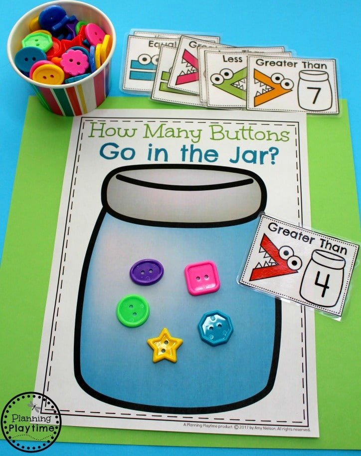 Fun Comparing Numbers Activities for Kindergarten