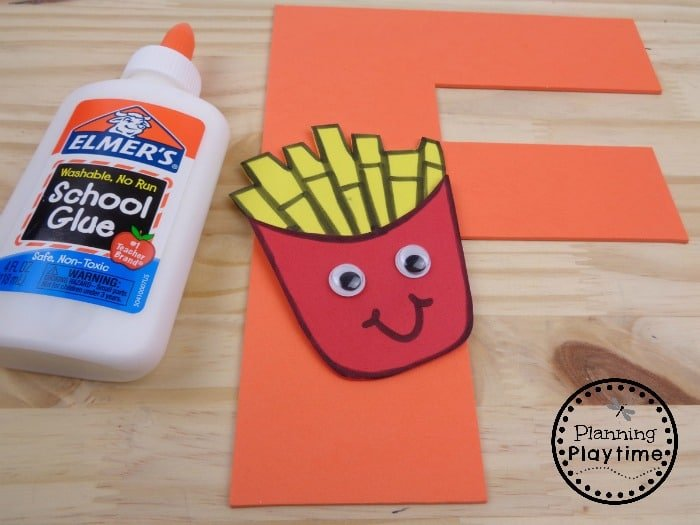 Fun Letter F Craft for Kids