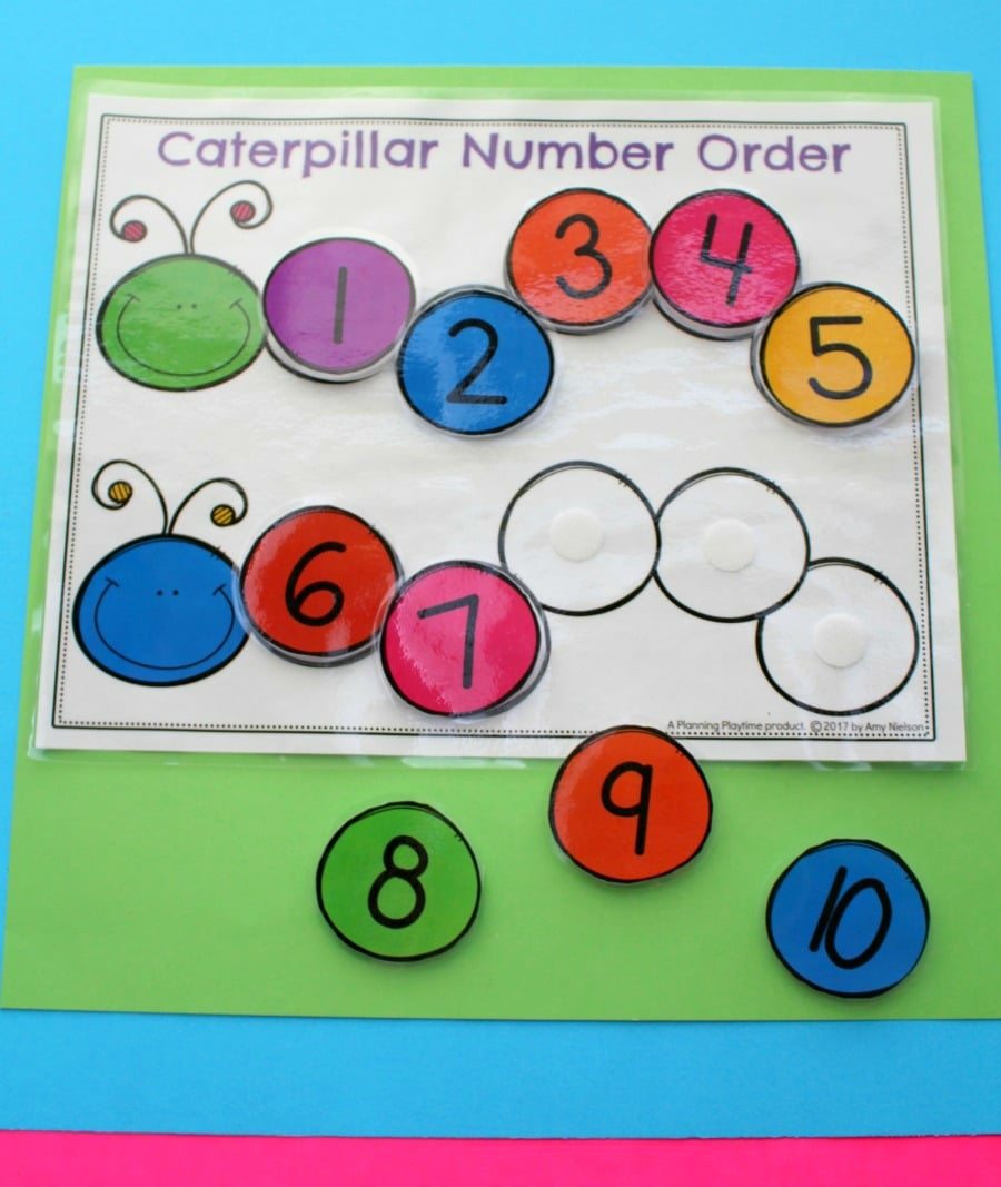 Fun Number Order Activity for Kindergarten