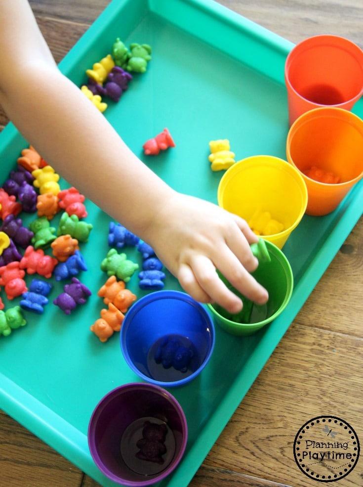 Fun Sorting Activities for Preschool, Kindergarten, or Toddlers.