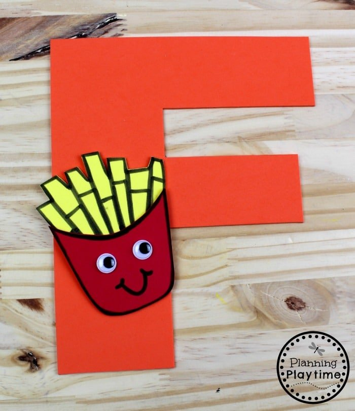 Letter F Craft for Kids