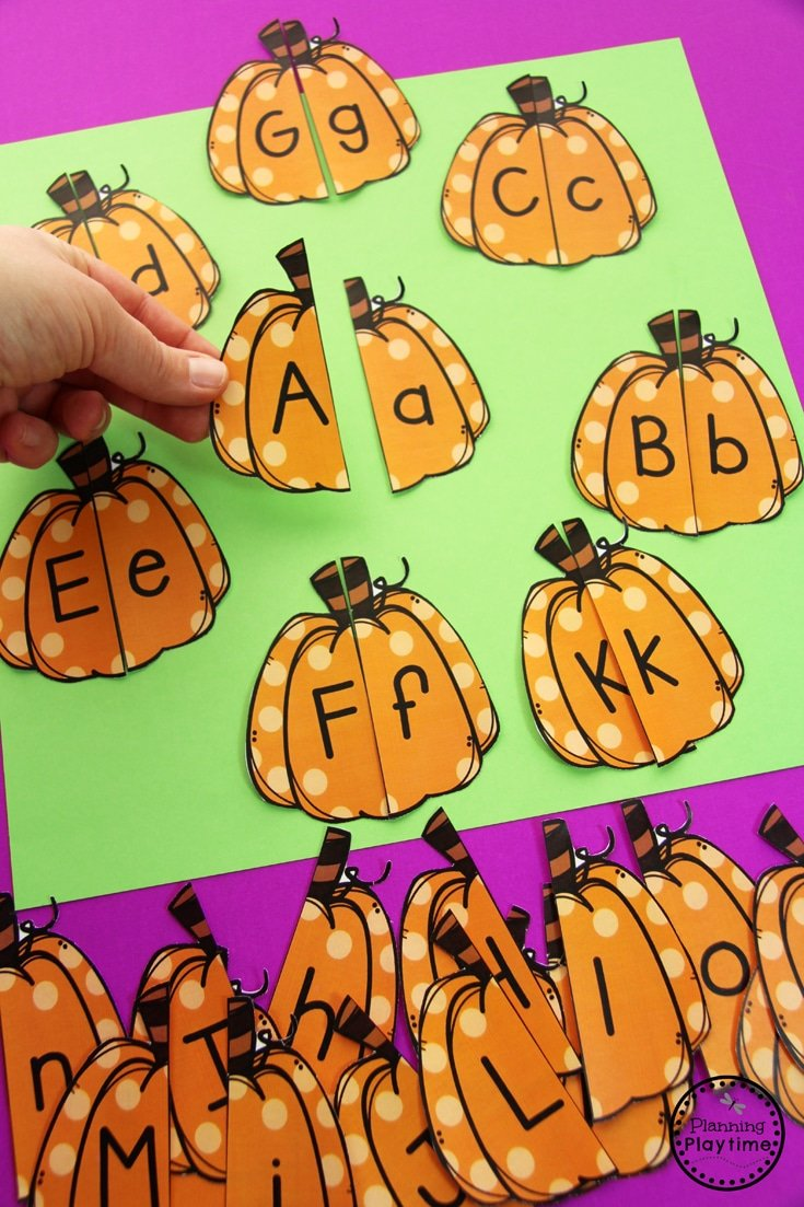 Pumpkin Preschool Activities - Planning Playtime