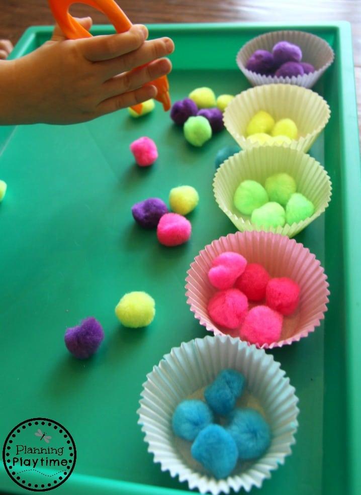 Preschool Sorting Activities for kids - Simple and Fun.