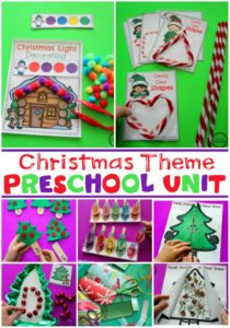 Christmas Theme for Preschool #preschool #christmastheme #planningplaytime