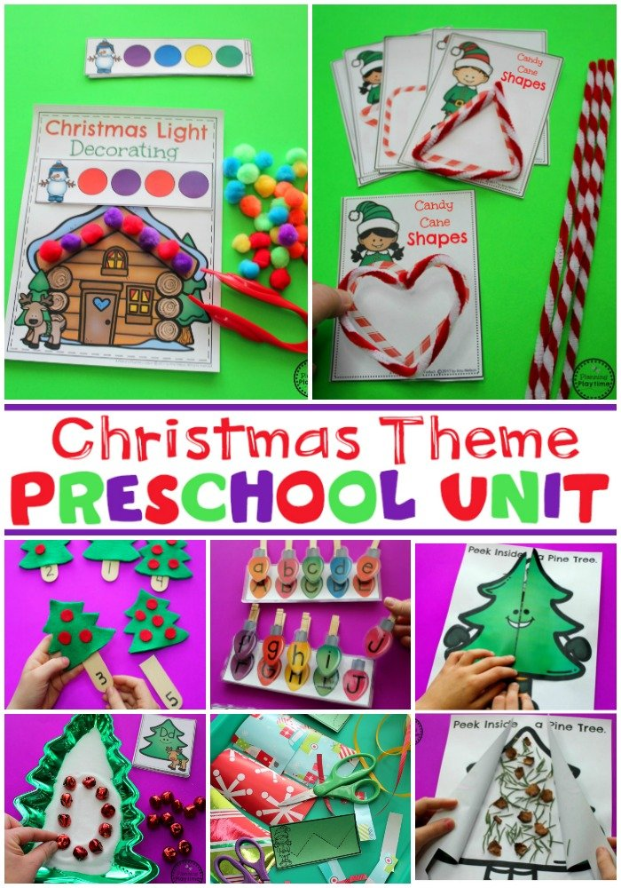 Christmas Theme for Preschool #preschool #christmastheme #planningplaytime