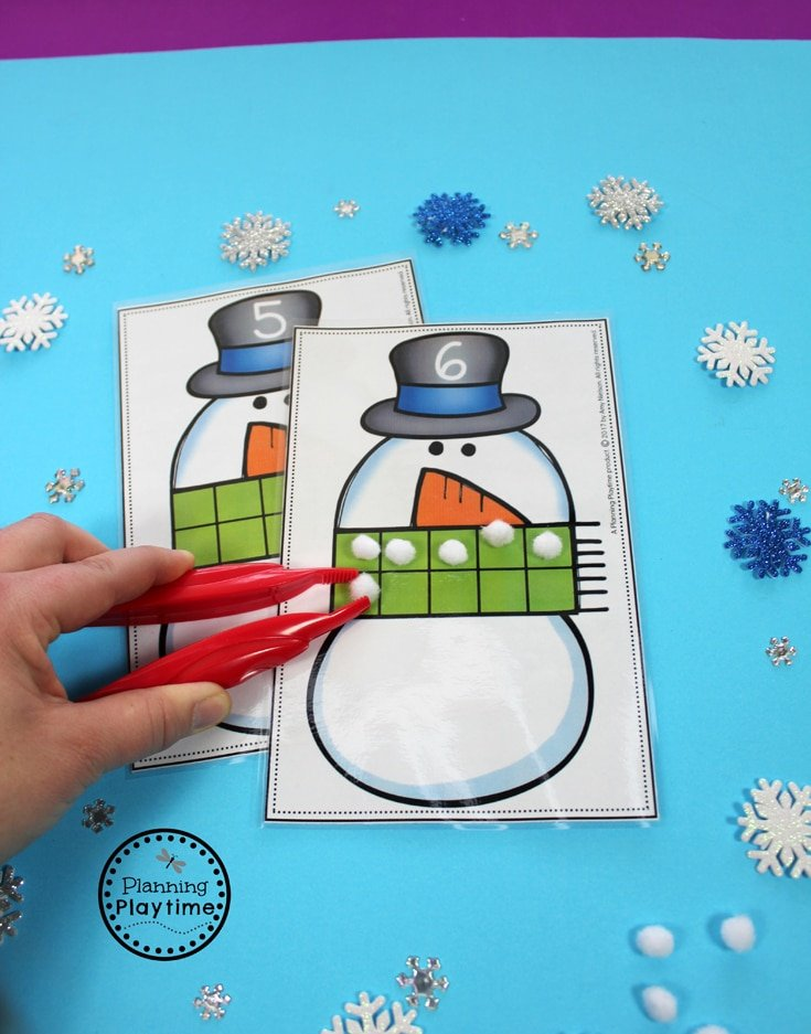 Fun Counting Activity for Preschool