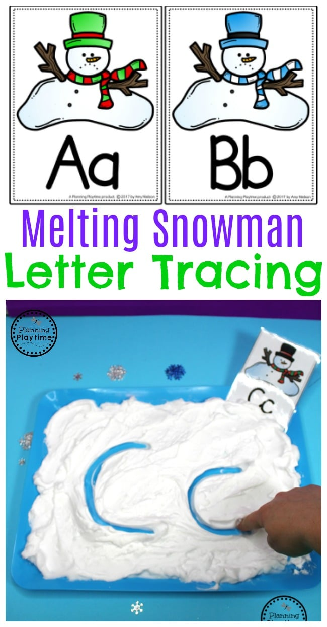 Snowman Activities for Preschool - Planning Playtime