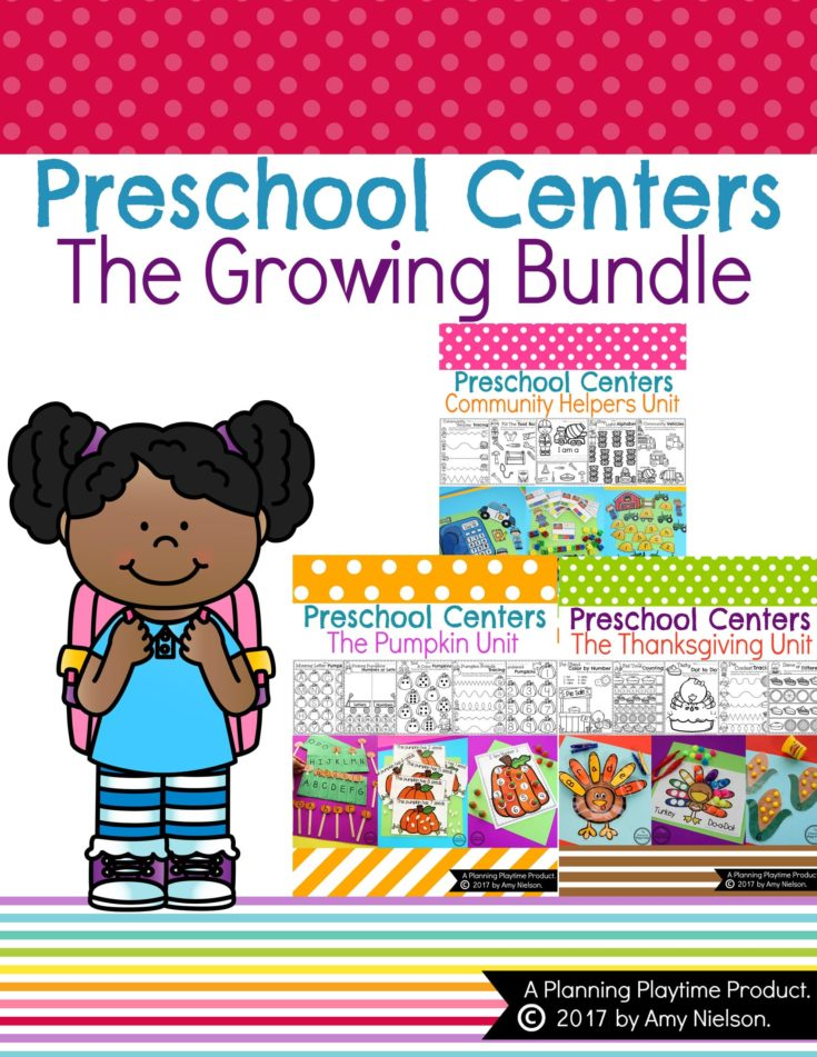 Preschool Units - The Growing Bundle