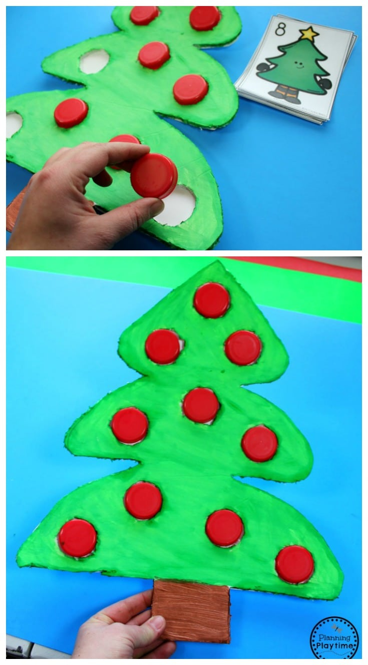 Christmas Counting Activities for Kids wit