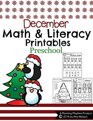 Preschool Christmas Worksheets