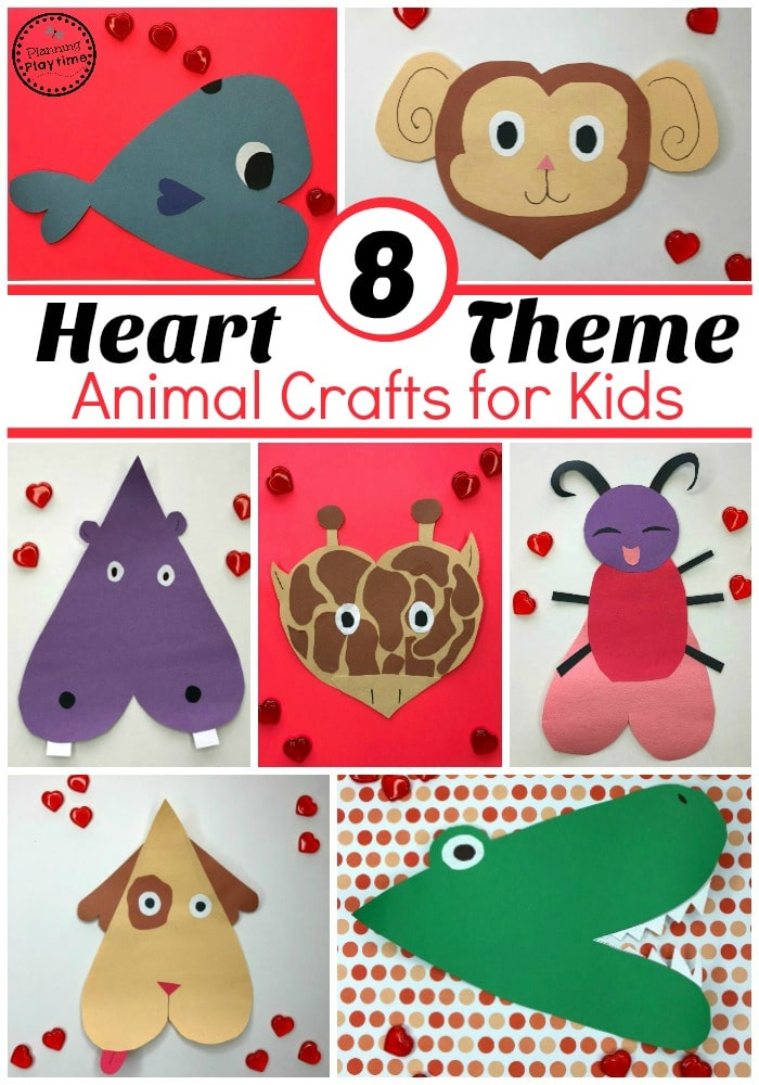 Valentines Crafts For Preschool Planning Playtime