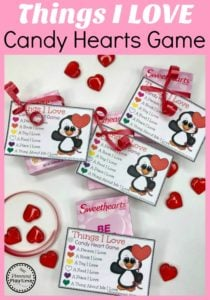 Valentines Party Games idea for Kids - Candy Heart Game #valentinesgame #valentinesday #valentinesparty