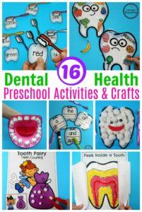 Awesome Preschool Dental Health Theme Activities. #dentalhealth #preschool #preschoolworksheets #preschoolcenters